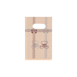 пакеты подарочные целлофановые 9x15см 4755 1