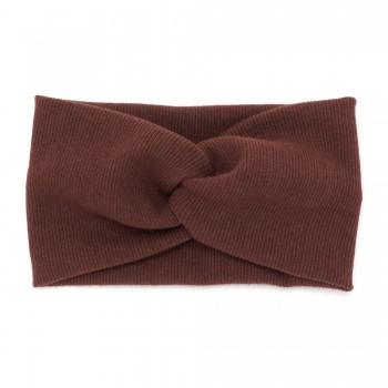 повязка-чалма из трикотажной ткани 13371 - бижутерия оптом Arkos.