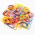 резинка-тропиканка силиконовая для афрокосичек тонкая нарезка цветная 1312 3