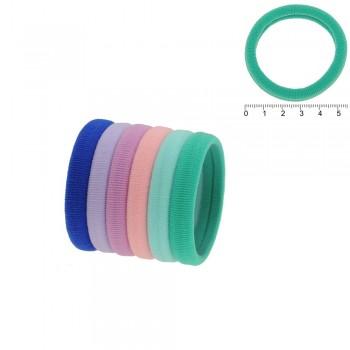 резинка для волос микрофибра rkr5. 14979 (пастельная) - бижутерия оптом Arkos.