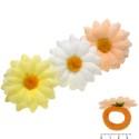 резинка для волос детская с цветком 5859