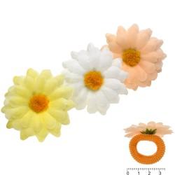 резинка для волос детская с цветком 5859 1