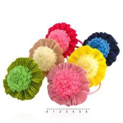 резинка для волос тонкая для детей с бантиком 7348 1