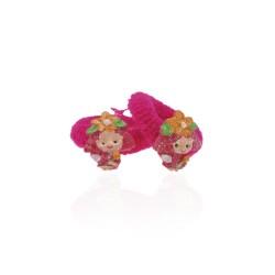 детская резинка для волос k01 833 девочка с цветочком 1