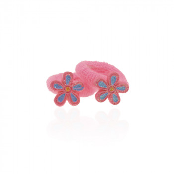 детская резинка для волос k01 842 цветок - бижутерия оптом Arkos.