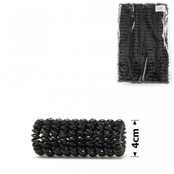 резинка-пружинка для волос Ø40mm глянцевая (invisibobble) 11984 - бижутерия оптом Arkos.