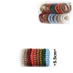 резинка-пружинка для волос Ø55mm матовая перламутровая invisibobble 15036 1
