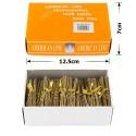 шпильки для волос в коробочке 6см серые (50 связок по 10шт) 12122 3