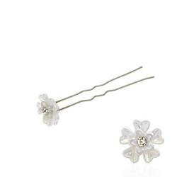 шпильки для волос с пластиковым цветком (36шт) 3044 1