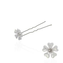 шпильки для волос с пластиковым цветком (36шт) 8126 1