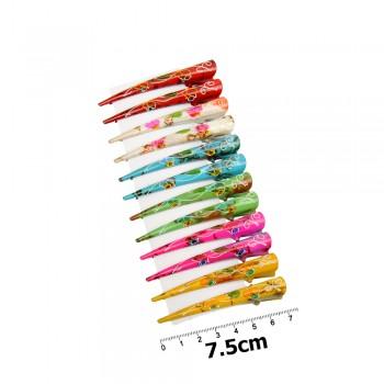 заколка-уточка для волос в виде стрелы — 7.5cm 12158 - бижутерия оптом Arkos.