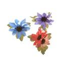 заколка уточка для волос с цветком 5890 3