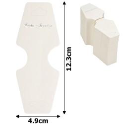 планшетка для товара картонная с вырезом под крючок (100шт) 11511 1