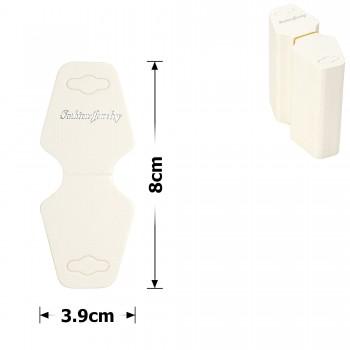 планшетка для товара картонная с вырезом под крючок (200шт) 11513 - бижутерия оптом Arkos.