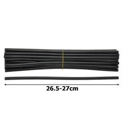 клей силиконовый черный Ø7мм. 20шт 1