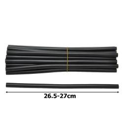 клей силиконовый черный Ø11мм. 10шт 1