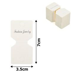 планшетка для товара картонная с вырезом под крючок (100шт) 14984 1