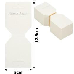 планшетка для товара картонная с вырезом под крючок (100шт) 15237 1