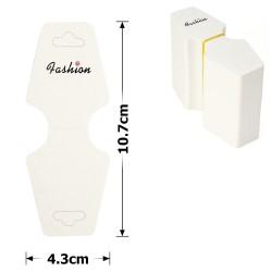 планшетка для товара картонная матовая с вырезом под крючок (200шт) 15850 1