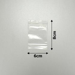 пакеты с замком zip-lock 6х8см 1