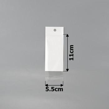 пакеты упаковочные 5.5x11cm целлофановые с белым фоном - бижутерия оптом Arkos.