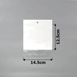 пакеты упаковочные 14.5х12.5см целлофановые с белым фоном 1
