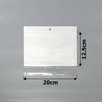 пакеты упаковочные 20х12.5см целлофановые с белым фоном - бижутерия оптом Arkos.