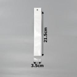 пакеты упаковочные 3.5х21.5см целлофановые с белым фоном 1