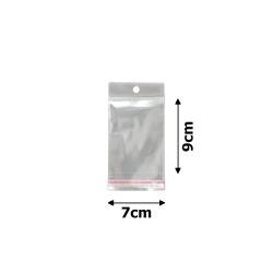 пакеты упаковочные целлофановые прозрачные 7х9см (100шт) 1