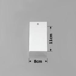 пакеты упаковочные 8х11см целлофановые с белым фоном 1