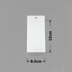 пакеты упаковочные 8.5х15см целлофановые с белым фоном 1