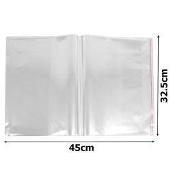 пакеты упаковочные целлофановые прозрачные 32.5х45см (100шт) 1